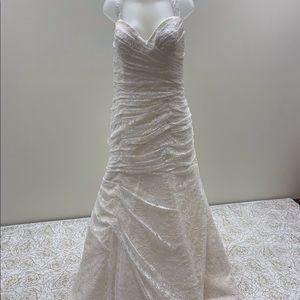 NWT Cara Mia Designer Adjustable Back Bridal Gown